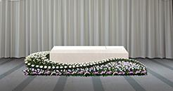棺周り葬送花例